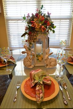 Kristen's Creations: Spring tablescape
