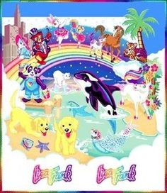 Anything Lisa Frank and Trapper Keepers ensured social success in grade school, oh the good ol days!