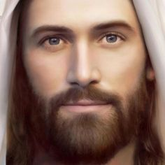 Jesus, the Christ. My most favorite picture of Jesus ❤ Images Du Christ, Pictures Of Jesus Christ, Religious Pictures, Jesus Our Savior, God Jesus, Image Jesus, Jesus Painting, Jesus Christus, Jesus Face