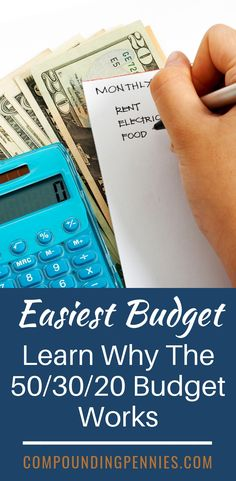 Looking for an easy to use budget? You can't go wrong with the budget. Learn why this budgeting plan is the best one to pay off debt and save money Budgeting Worksheets, Budgeting Finances, Budgeting Tips, Making A Budget, Create A Budget, Budget Help, Easy Budget, Savings Planner, Savings Goal
