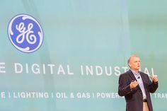 Jim Fowler, the chief information officer of General Electric, at the Amazon Web Services conference on Wednesday.