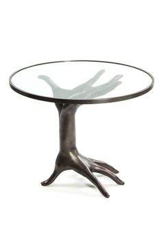 Kelly Wearstler Double Hand Table.  Inspired by my love of the body. Xk #kellywearstler