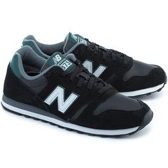 NEW BALANCE Classics Traditionnels 373 - Czarne Zamszowe Sportowe Męskie #mivo #mivoshoes #shoes #buty #black #colors #newbalance #new #collection #newcollection #fall #winter #2015 #2016 #sport #active #fit #running #fashion #style #stylish #streetlook #streetfashion #fashion #men