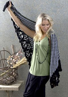 Delhi Shawl Pattern (Not loving the scarf, but the edging is incredible)