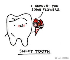 Sweet tooth! www.PhanDental.com https://www.facebook.com/phandentalyeg https://twitter.com/PhanDental