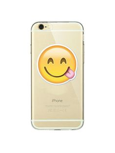 Emoji: Smiley iPhone case made from soft-silicone. Compatible iPhone models: 5 / 5s / SE, 6 / 6s, 6 / 6s Plus, 7, 7 Plus Case protects your iPhone while the silky, soft-touch silicone feels great in y