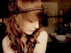 Headband de trança