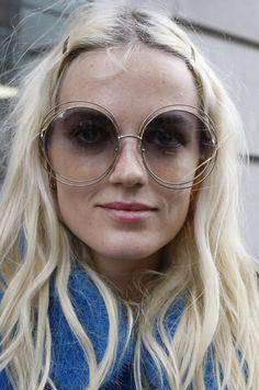 Double Wire Rime Sunglasses