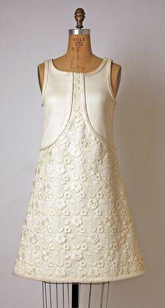 Dress André Courrèges  (French, born 1923) Date: 1965 Culture: French Medium: cotton