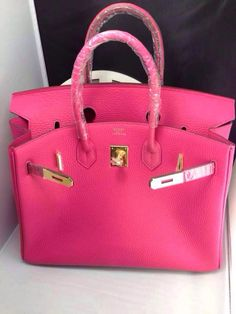 hermes birkin bag white - Hermes 30cm Rose Lipstick Togo Leather Birkin Bag with Gold ...
