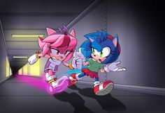 Sonic The Hedgehog, Shadow The Hedgehog, Shadow And Amy, Sonic And Shadow, Amy Rose, Sonic Vs Knuckles, Maria Rose, Sonamy Comic, Sonic The Movie