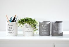 Home Office, Planter Pots, Campaign, Content, Homemade, Mugs, Medium, Simple, Tableware