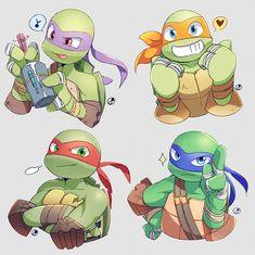 teenage mutant ninja turtles turtle tots - Google Search