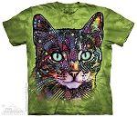 Watchful Cat - Adult Tshirt