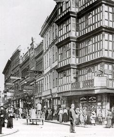 The Dutch House on the Corner of Wine Street and High Street, Bristol