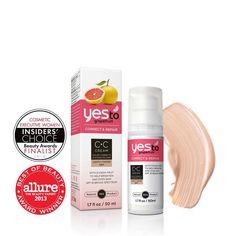Yes to Grapefruit CC Cream - Light http://www.target.com/p/yes-to-grapefruit-cc-cream/-/A-14640304#prodSlot=medium_1_1&term=yes+to+grapefruit+cc+cream