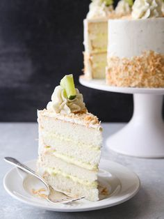 Get the Coconut Cream Lime Cak