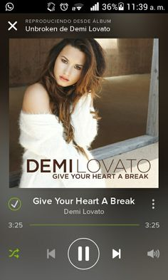 #GiveYourHeartABreak i love song by #DEMI