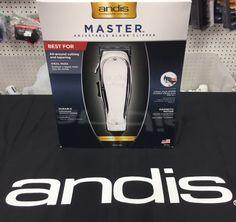 Andis Master Clipper #abbs #Atlanta #barber #supply #Andis #clipper #master Barber Clippers, Andis Clippers, Barber Shop Supplies, Beauty Supply, Shaving, Atlanta, Hair Cuts, Tools, Makeup
