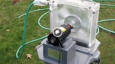 Pembangkit listrik dari air selang yang menakjubkan dari orang kreatif…
