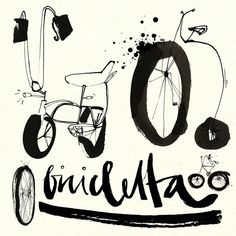 BICICLETTA by Ekaterina Koroleva, via Behance