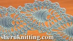 crochet pineapple stitch tutorials from youtube