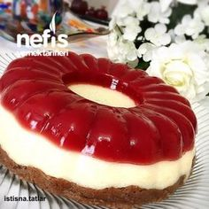 Üç Renkli İrmik Tatlısı Jello Recipes, My Recipes, Sweet Recipes, Dessert Recipes, Cooking Recipes, Desserts, Recipies, Food Decoration, Love Eat