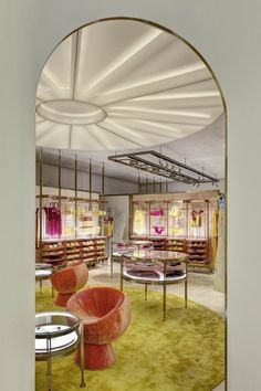 Baciocchi & Associati - Multibrand Lingerie Store Design, Jewellery Showroom, Visual Merchandising, Closets, Affair, Wonderland, Vanity, Retail, Rose