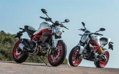 Lataa kuva Ducati Monster 797, 2017, Kaupunki pyörä, uusi moottoripyörä, moottoripyörä ratsastus, Italian moottoripyörät, Ducati