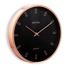 Smiths Clocks Rose Gold Wall Clock