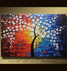 Who wants to buy this for me? Original Abstract Painting Modern Textured Painting by xiangwuchen, $188.00