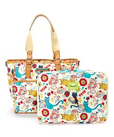 Furry Friends Tech Items Tote & Laptop Case | zulily