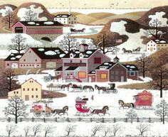 Gifts, Antiques, and Cakes - Charles Wysocki