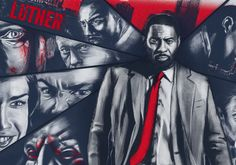 Luther TV Show Print