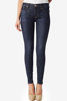 Nico Mid-Rise Super Skinny by Hudson Jeans