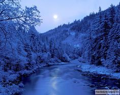 Winter Scenery Download Free Wallpapers