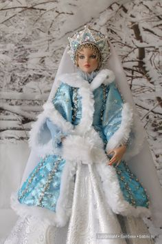 C новым годом! Снегурочка Tonner / Девушки куклы Robert Tonner / Бэйбики. Куклы фото. Одежда для кукол