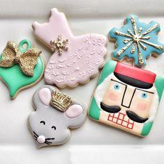 Nutcracker/ballet cookies