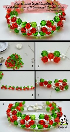 diy bracelet - more inspiration and free tutorials on the blog ...