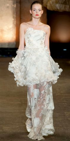 Christian Siriano - 15 Spring 2014 Runway Looks That Work For Your Wedding Day - InStyle Weddings - Celebrity - InStyle