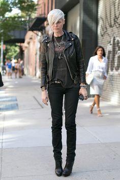 Kate Lanphear, street style, new-york / spring 2014