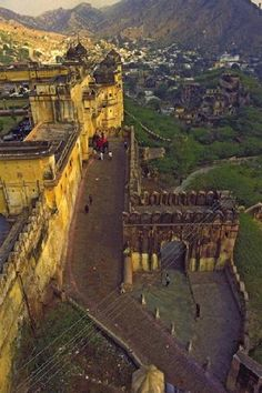 Amber Fort - Jaipur, India.tourist attraction in india | travel tour agency india  | tourist place in india | best tourist place
