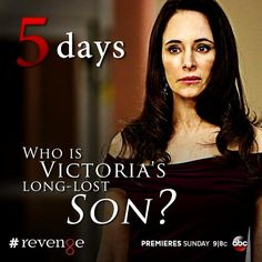 It's time for Victoria to face her past. 5 days until #Revenge returns.