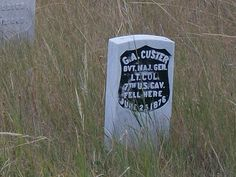 Little Bighorn Battlefield - Custer's Last Stand