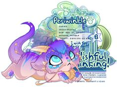 Wishful Thinking - Periwinkle as adult