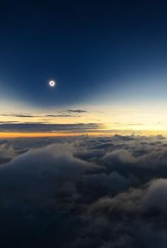 Romania Totality from above the Clouds by Catalin Beldea