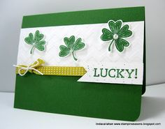Stampin' Seasons: Lucky! FMS76