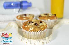 Muffins Saludables sin Harina, sin Azúcar ni Materia Grasa