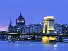 Budapest is the capital and the largest city in Hungary. It has a total territory of 525 km². The city is divided into two parts by the Danu...