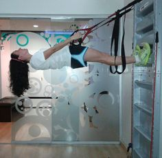 suspension training with #fitwall @fitwall